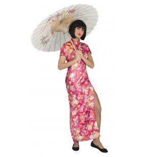 Lange Kimono Shasaka Vrouw Kostuum