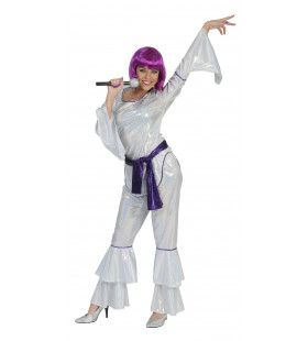 Disco Diva Suzie Vrouw Kostuum