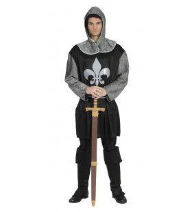 Zwarte Ridder Riverdale Man Kostuum