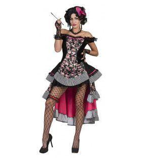 Twee Vingers Bourbon Saloon Vrouw Kostuum