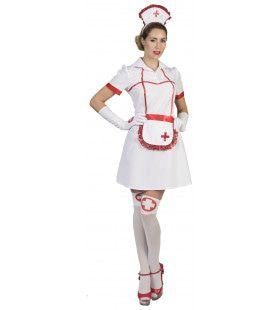 Ziekenhuis Verpleegster Florence Vrouw Kostuum