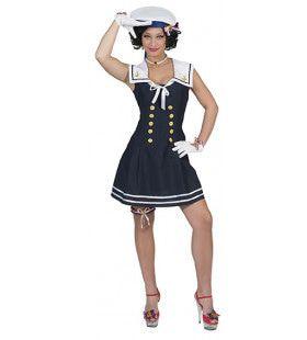 Zilte Sop Matroos Vrouw Kostuum
