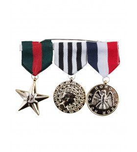 3 Militaire Medailles Oorlogsveteraan