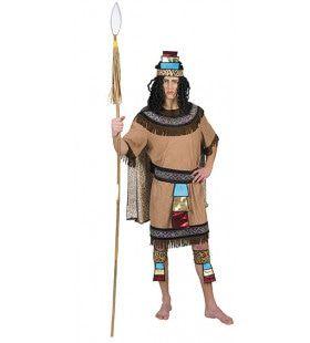 Azteekse Strijder Chocolatl Man Kostuum