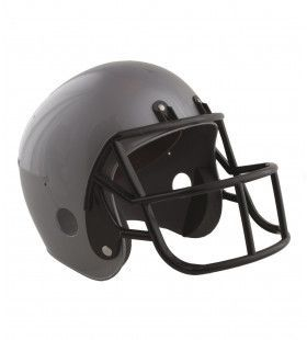 American Football Helm Grijs