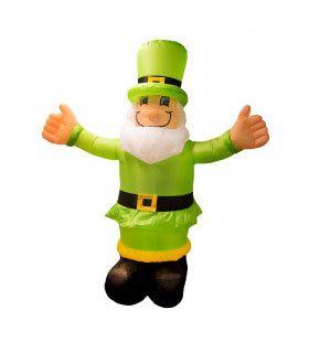 Opblaasbare Mascotte Ierland 180 Centimeter Hoog