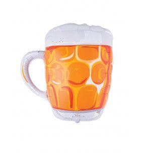 Ballon Bier Glas
