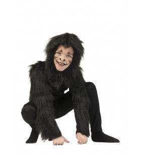 Gespierde Oerwoud Gorilla Kind Kostuum