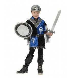 Dappere Ridder Middeleeuwen Kasteel De Haar Jongen Kostuum