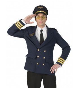 Jas Piloot Airbus Man