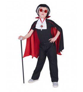 Duistere Dracula Graaf Rood Van Bloed Cape Jongen