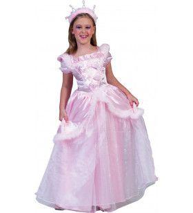 Sprookjes Prinses Suikerspin Meisje Kostuum