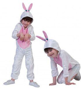 Lief Zacht Konijn Kind Kostuum