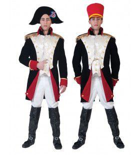 Napoleon Bonaparte Veldheer Waterloo Man Kostuum