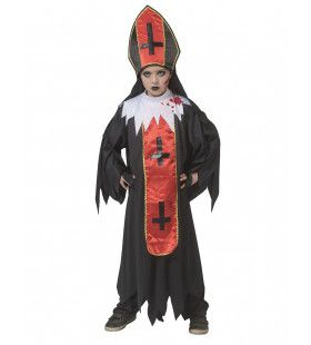 Horror Paus Duistere Religie Kind Kostuum