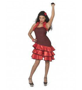 Cassandra Castagnetta Flamenco Danseres Vrouw Kostuum
