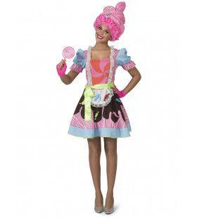 Candy Snoepje Fantasy Vrouw Kostuum