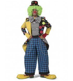 Enorme Knopen Jas Clown August Man