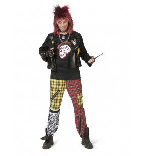 Luidruchtige Punk Sid Man Kostuum
