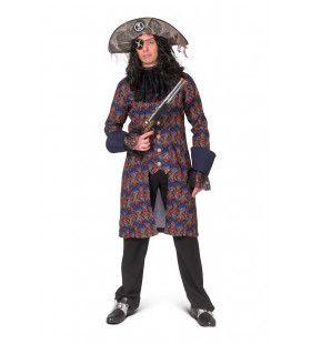 Baroque Doodskop Jas Piraat Edward Man