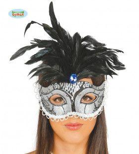 Zilveren Oogmasker Samba