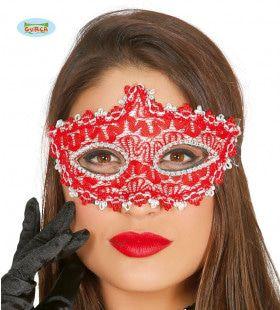 Fijn Versierd Venetiaans Oogmasker