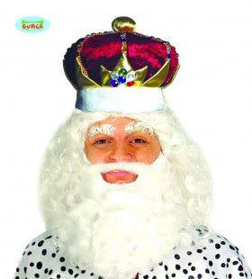 Weelderig Versierde Kroon Koning
