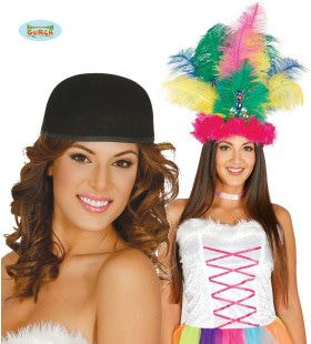 Zwarte Cap Samba Ankie