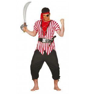 Schrik Van De Oceaan Piraat Man Kostuum