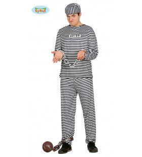 Amerikaanse Gevangene Man Kostuum