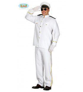 Cruise Schip Kapitein Man Kostuum