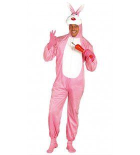 Roze Konijn Bertus Bunny Kostuum