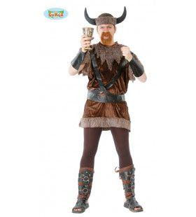 Aquavit Viking Man Kostuum