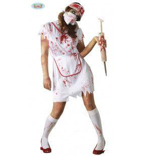 Ziekenhuis Zombie Zuster Vrouw Kostuum