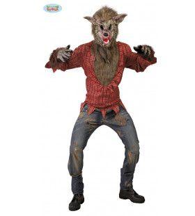 Grote Boze Weerwolf Man Kostuum