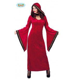 Diabolische Rode Satan Vrouw Kostuum