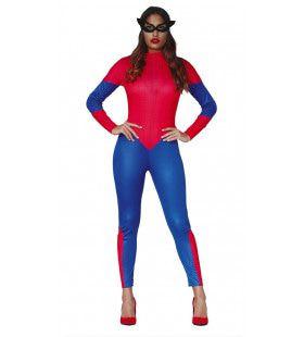 Amerikaanse Superheldin Vrouw Kostuum