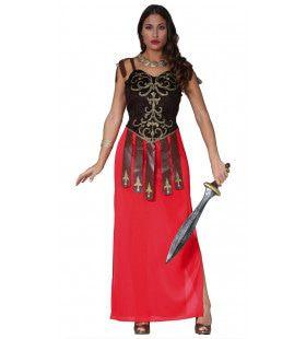 Rijke Romeinse Patricier Pompei Vrouw Kostuum