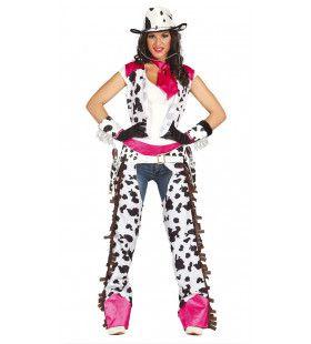 Roxanna Rodeo Cowgirl Vrouw Kostuum