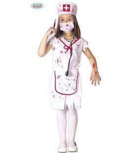 Bloederige Operatie Assistente Meisje Kostuum