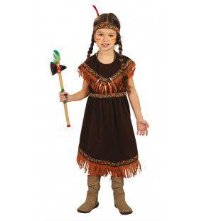 Tina Totem Indiaan Meisje Kostuum