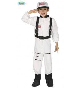 Raket Reiziger Ruimtevaart Jongen Kostuum
