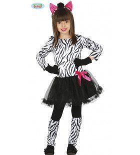 Zebra Koemba Zuid Afrika Meisje Kostuum