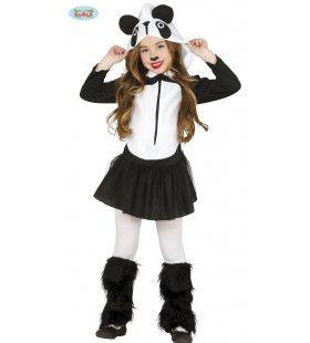 Reuze Lieve Panda Meisje Kostuum