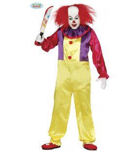 Bloedserieuze Clown Man Kostuum