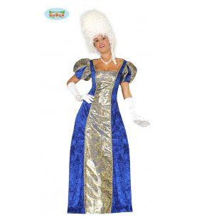 Chique Markiezin Renaissance Vrouw Kostuum