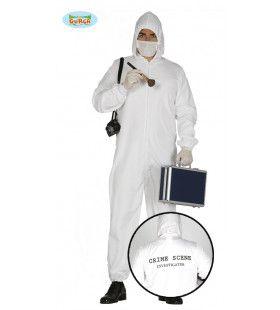 Csi Forensische Crime Scene Politie Man Kostuum