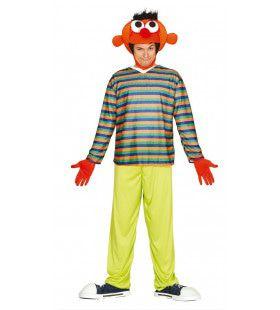 Ernie De Kindervriend Man Kostuum