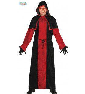 Monnik Satans Orde Man Kostuum
