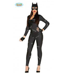 Zwart Katje Kitty Vrouw Kostuum